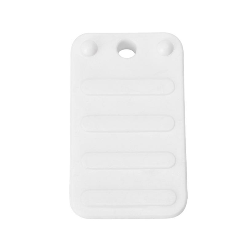 Rubber Pads For Chair Legs Wedge Shaped Plastic Door Stop Home Sofa Non-Slip Pad Baby Safe Protector Guard Furniture AccessoriesRubber Pads For Chair Legs Wedge Shaped Plastic Door Stop Home Sofa Non-Slip Pad Baby Safe Protector Guard Furniture Accessories