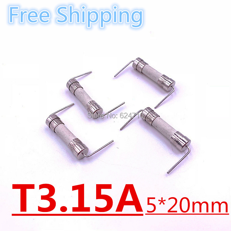 50pcs 5x20 Low Breaking Low Current 5mm x 20mm Quick Fast Blow Glass Tube Fuse