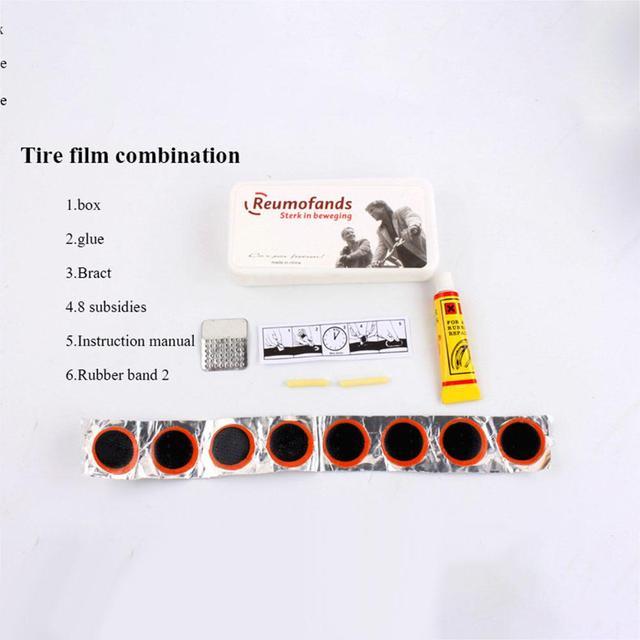 Mounchain Kit de réparation de vélo pompe à pneus jeu de clés VTT outil de combinaison