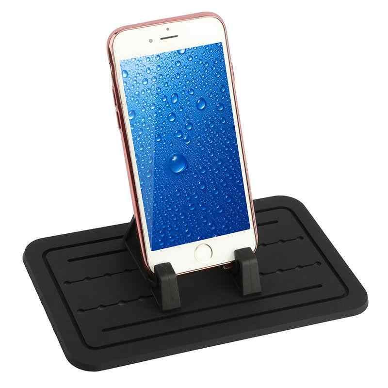Vertikal Silikon Pad Non-Slip Dash Mat Ponsel Dudukan Cradle Dock untuk Ponsel Universal untuk Tablet D20