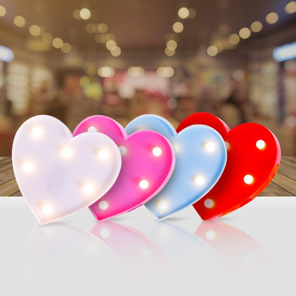 Romantic Night Lamp LED Table Decor Light 3D Fashion light D35
