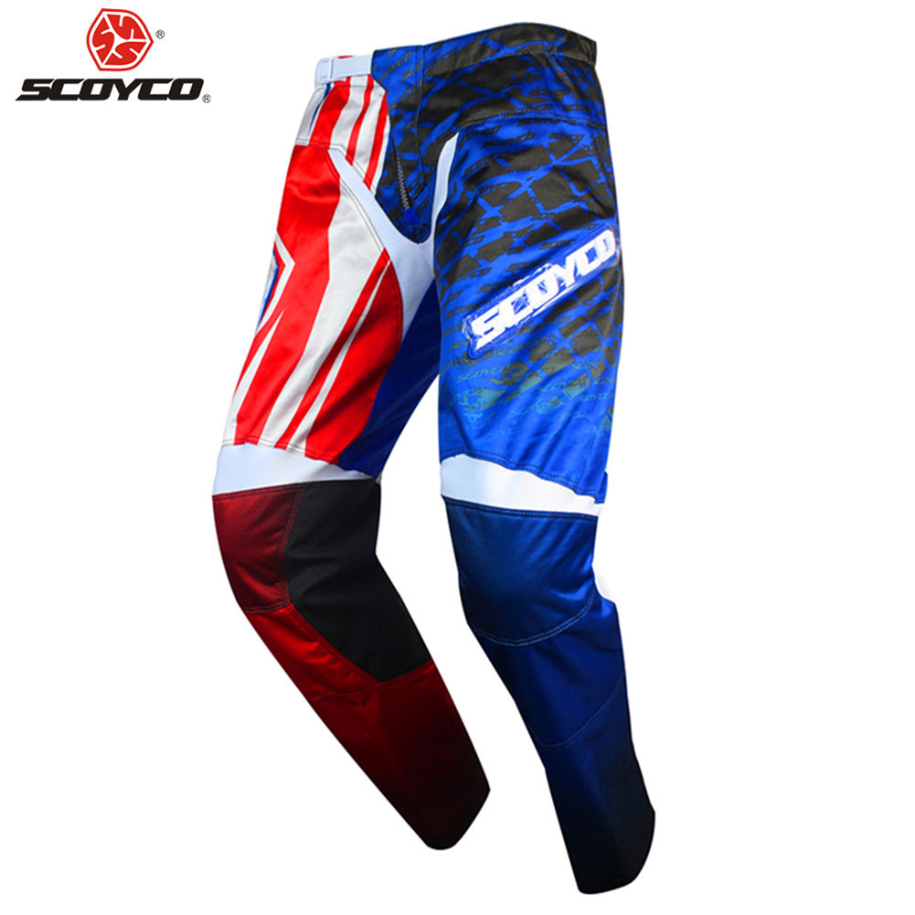 SCOYCO pantalon Moto Cross Moto MX descente vetement pantalon Protection Moto Cross Moto marchandises homme pantalon motos