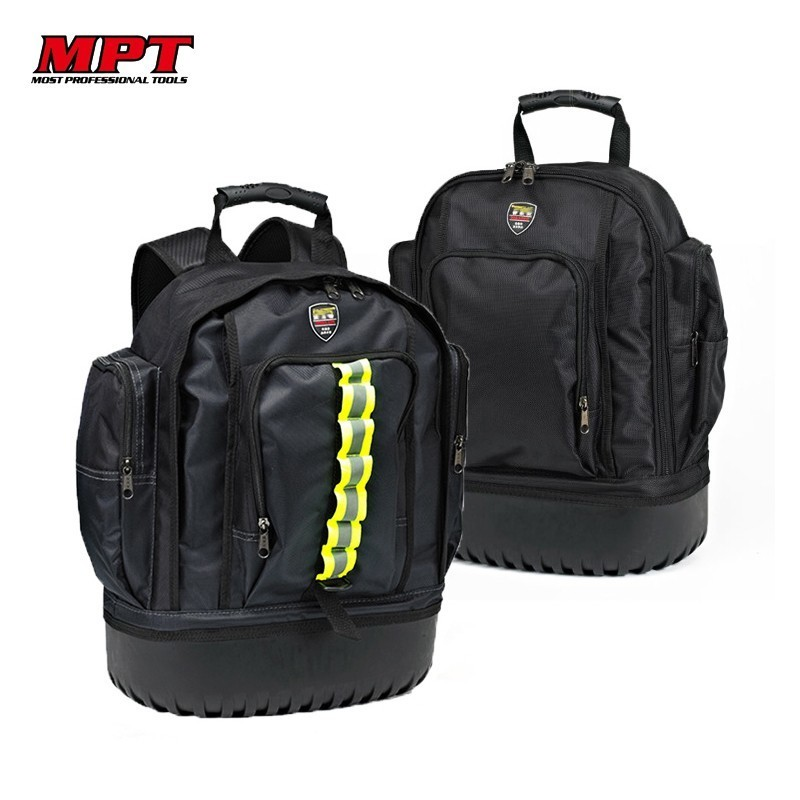 Professional Oxford Cloth Canvas Shoulder Tool Bag Storage Organizer Spanner Repair Backpack Hardware Kit Toolkit Belt