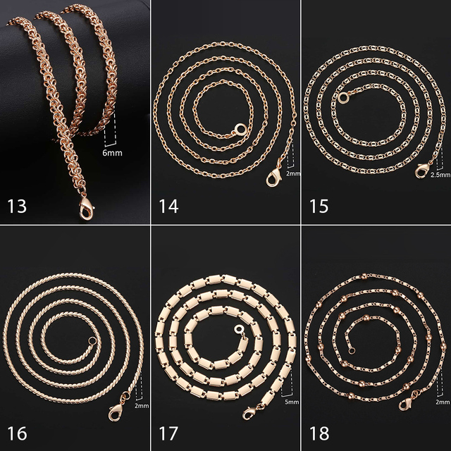 Rose Gold Chains  5