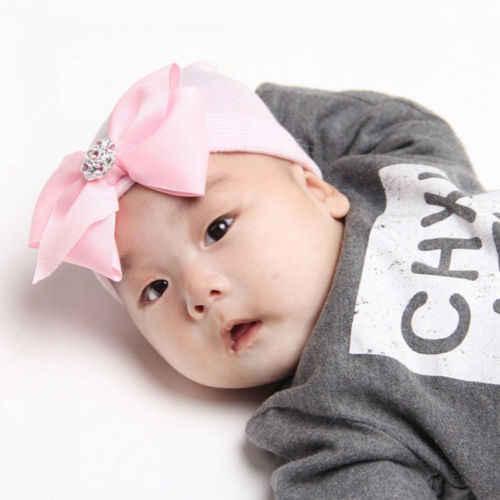 หมวกเด็กทารกแรกเกิดทารกเด็กวัยหัดเดิน Comfy Bowknot Hospital หมวกเด็กถักเสื้อกันหนาว Warm หมวกหมวกลาย