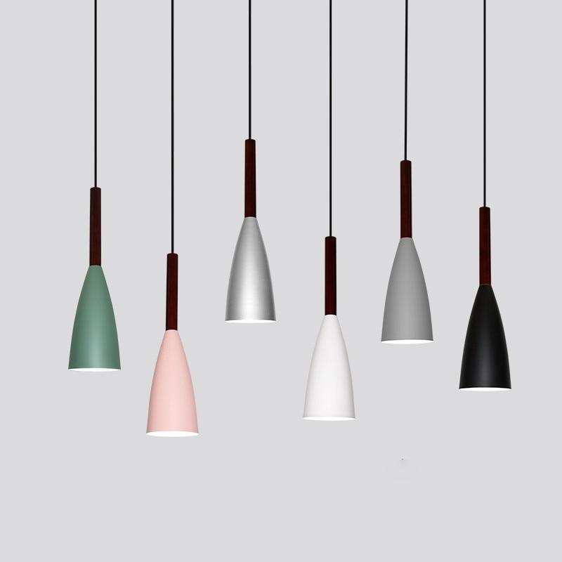 Vintage LED pendant lights Art dining room modern hanging lamp E27 nordic pendant lights for living room restaurants bar цена