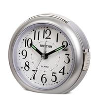 4 inch Non ticking Silent Beep Alarm Clock,Luminous pointer,Snooze,Night light,Silky Move,Digital Alarm Clock Bedroom Clock