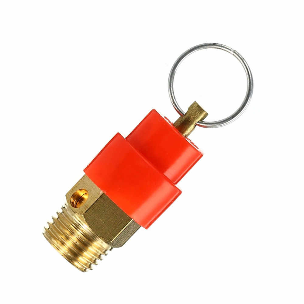 1PCS 1/4'' 10KG BSP Air Compressor Safety Release Valve Pressure Relief Regulator Wholesale Low Price