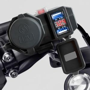 Image 2 - 3 で 1 デュアル USB 携帯電話充電器防水急速充電と互換性デジタルディスプレイ iphone huawei samsung