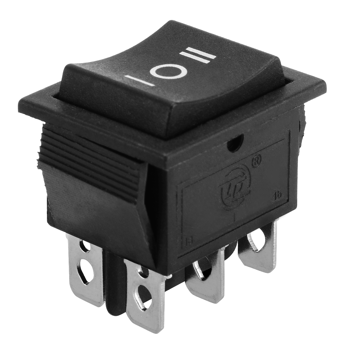 1pc 6 Pin 3 Position Hoist Boat ON OFF ON Momentary Rocker Switch DPDT 16A 250V Mayitr 32 31 25mm Mayitr in Switches from Lights Lighting