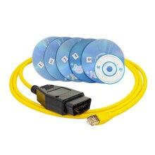 ESYS кабель для передачи данных для BMW ENET Ethernet в OBD интерфейс E-SYS ICOM кодирование для F-serie диагностический кабель
