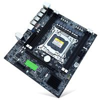 X79 E5 Desktop Computer Mainboard LGA 2011Pin 4 Channels RECC Gaming Motherboard CPU Platform Support i7 Xeon for Intel H61 P67
