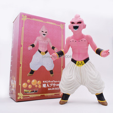 Anime Dragon Ball Z Super Saiyan Majin Buu Boo PVC Action Figure Toy Collectible Model Great Birthday Christmas Gift dragon ball z action figure majin buu with aura figure zero pvc figure toy anime dragon ball super buu collection model diy109