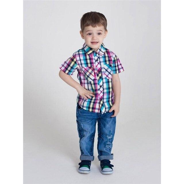 Рубашка текстильная Sweet Berry для мальчиков