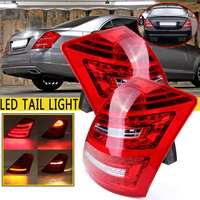 Car Led Tail Lights For Mercedes for Benz W221 S Class 2006 2007 2008 Taillight Modified Rear Brake Tail Lamp Drl Styling