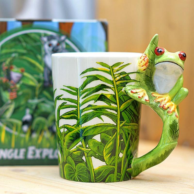 Cool 3D Frog Mugs | Moon Discount