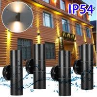 35W 360° GU10 Waterproof IP54 Wall Lamp Modern Outdoor Double Light Garden Family Villa Industrial Art Lamp