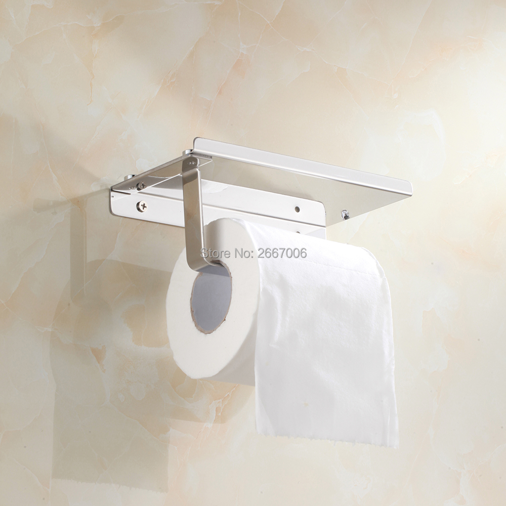 GIZERO Promotional Gift 304 Stainless steel Bathroom Accessories Toilet Paper Holder Roll Holder ZR2322U in Paper Holders from Home Improvement