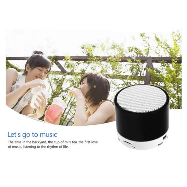 Mini Wireless Bluetooth Loudspeaker Supporting TF Cards