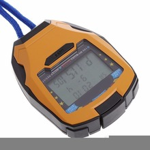 1Pcs Multifunctional Handheld Digital LCD Sports Stopwatch Pedometer Running Timer Counter Chronograph For Fitness Accessories цена в Москве и Питере