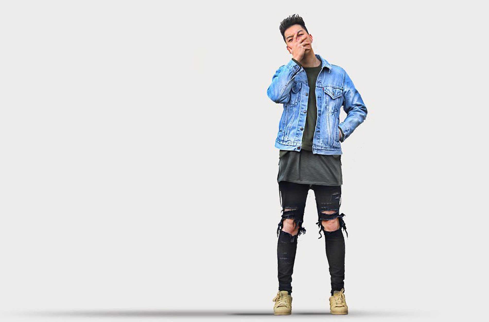 Strech Jeans Pantalones Vaqueros Ajustados Para Hombre Ropa Desgastada 2018 Pantalones Vaqueros Aliexpress
