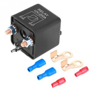 Hot 12V 200A Normal Open Heavy Duty Car Truck Starter Relay with Terminals(China)