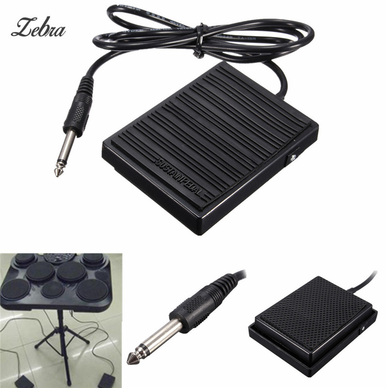 Zebra Universal Piano foot Sustain pedal Controller Switch Compatible with all Piano electronic keyboards Pakistan