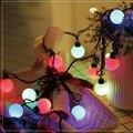 20 светодиодных шаров  гирлянды для вечеринок  световые гирлянды  наружные светодиодные Рождественские огни  подключаемые сказочные гирлян...