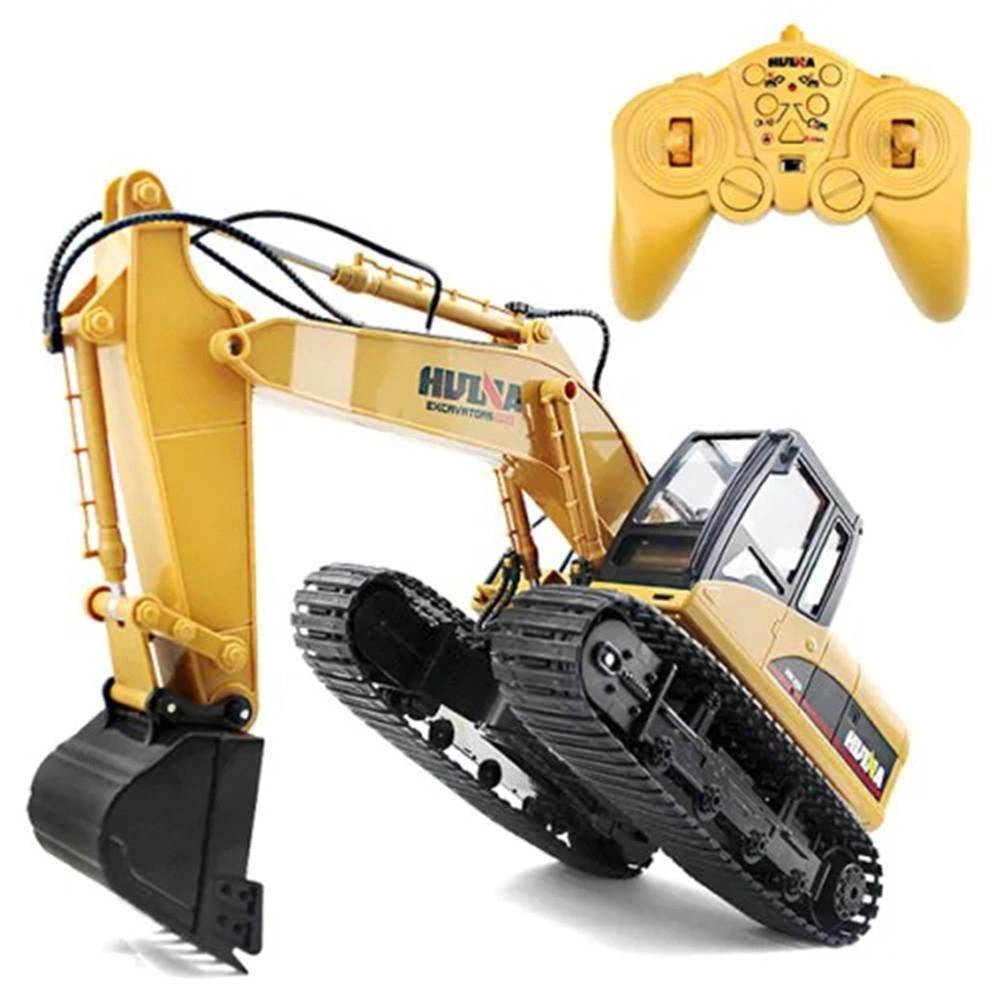 RCtown Wireless 15CH Escavatore Giocattolo con Remote Controller Kids Ragazzi GiocattoloRCtown Wireless 15CH Escavatore Giocattolo con Remote Controller Kids Ragazzi Giocattolo
