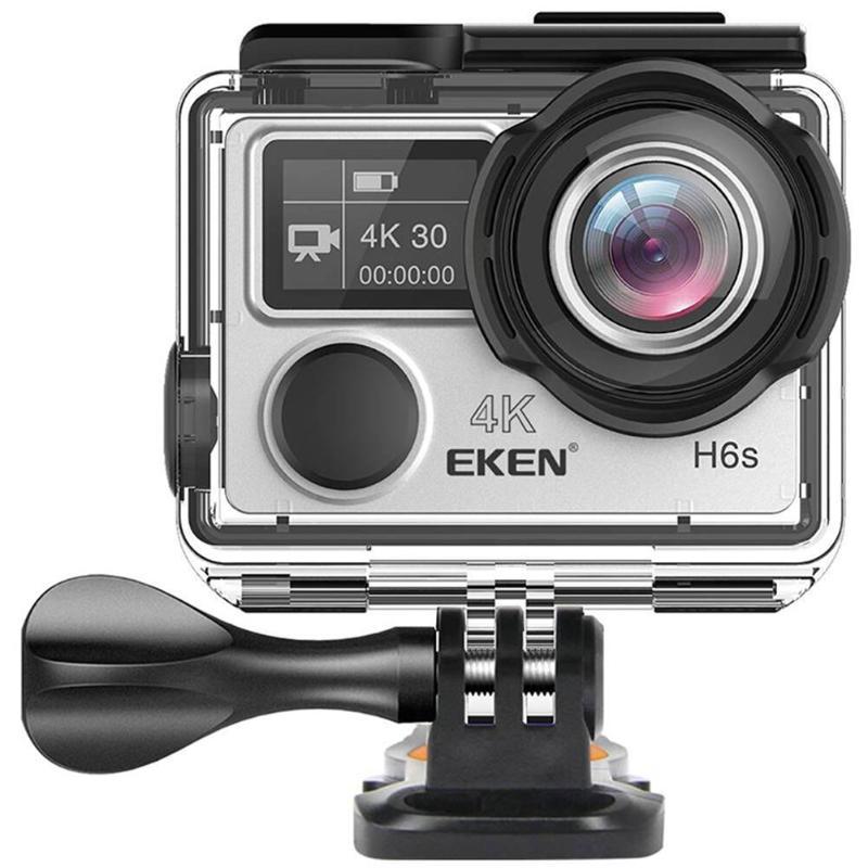 EKEN H6S Ultra HD 4 k Vidéo D'action Cam EIS Stabilisation D'image Ambarella A12 Puce WiFi Étanche 14MP Mini Sport caméra Hot