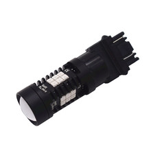 2x Flash Strobe 3157 Car Led Light 21-LED Red Stop Brake Tail Signal Bulb Lights Source