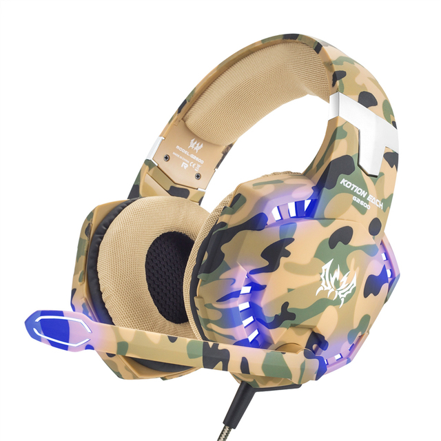3.5mm Casque Gamer Stereo Headphone With Microphone 5