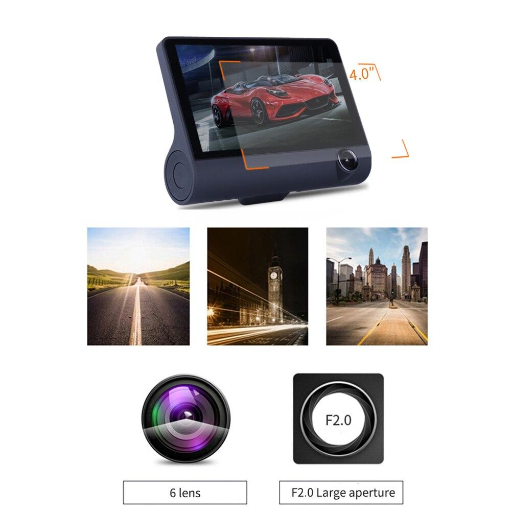 Авто 3 в 1 Радар автомобилей DVR, gps трекер 4,0 дюймов 3 Way камеры видео Регистраторы Антирадары, быстрая камера, видеокамера, Русская озвучка - 6