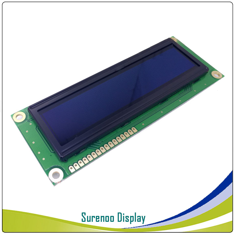 Real OLED Display, Military Level Larger 1602 162 Character LCD Module Screen LCM build in WS0010, Support Serial SPI-in LCD Modules from Electronic Components & Supplies    2