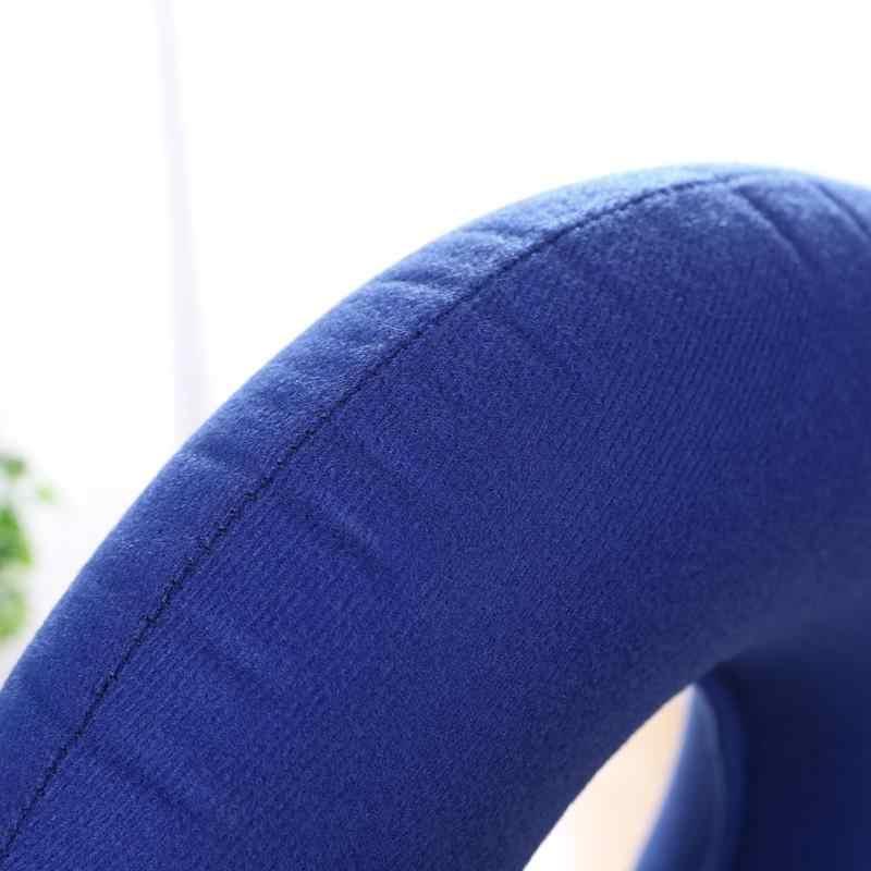 1 PC エアインフレータブルシートクッションリング型褥瘡インフレータブルチェアマットクッションマッサージ抗褥瘡パッド椅子パッド