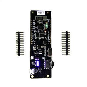 Image 2 - Ttgo T Cell Wifi и Bluetooth модуль 18650 Держатель батареи сиденье 2A предохранитель Esp32 4 Mb Spi Flash 4 Mb Psram micropyton REV1