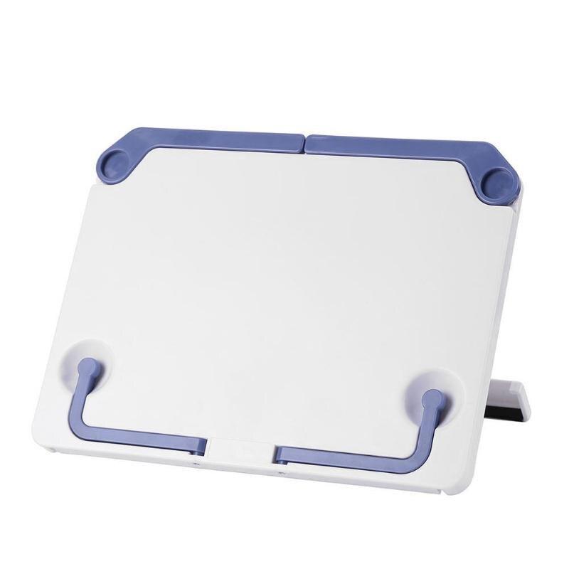Portable Reading Stand Books Document Recipe Shelf Folding Cookbook Tablet Holder Organizer Rest Rack