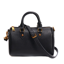 Women's High quality genuine leather Bag Black brand fashion Serpentine handbags shoulder leather bags for laides Boston Totes все цены
