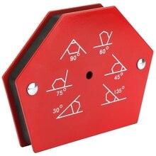 цена на 1Pcs Multi-angle Six Sides Welding Ground Clamp Magnet Holder Arrows Magnetic Welder Fixing Tool Hardware Magnetic Materials Hot
