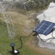 1.2W Solar Panel Powered Fountain Pump Aquarium Pond Swimming Pool Home Garden Watering Kit garden decoration #5
