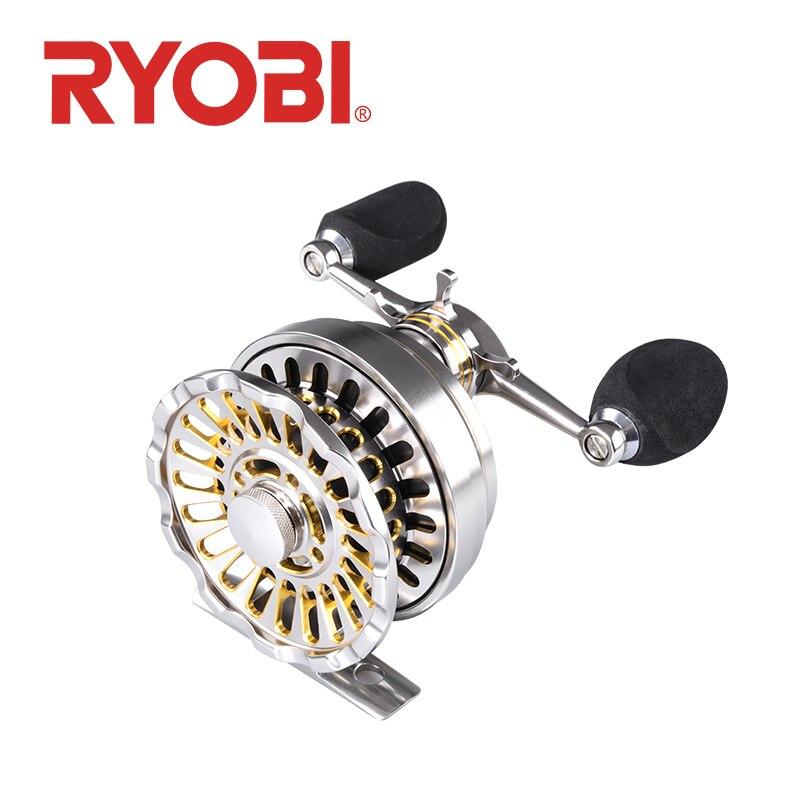 RYOBI IKADA DANI moulinet de pêche roue radeau main gauche et droite carretilha roulement à billes 8BB engrenage Ratio3.5: 1 moulinet pêche carpe moulinet