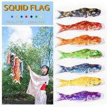 3D горячее тиснение Карп баннер 70/100 см Koi Nobori Карп ветер носки Koinobori красочные рыбы флаг Подвесной Настенный домашний декор