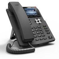 X3SP POE цветной экран входной уровень 2 sip линии IP телефон поддерживает EHS беспроводная гарнитура HD Voice SOHO voip телефон