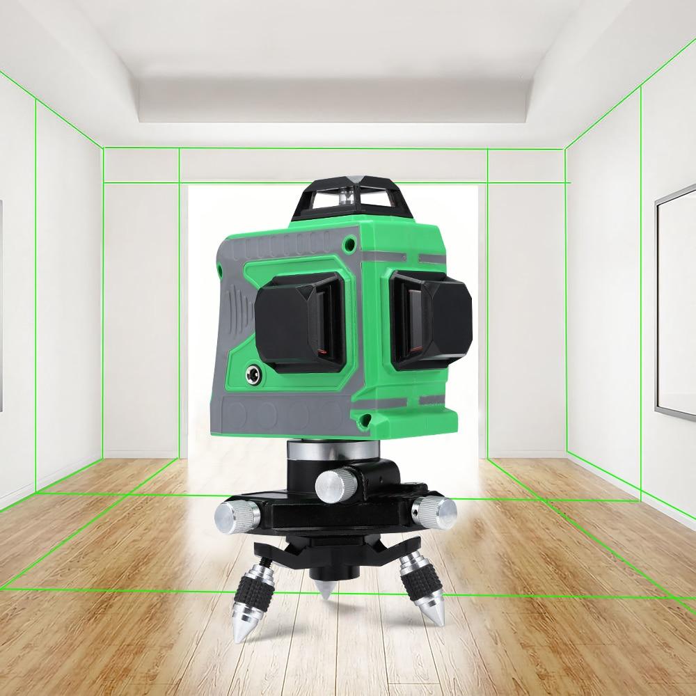 Muli 12 Lignes 360 Auto-Nivellement Laser Level Meter