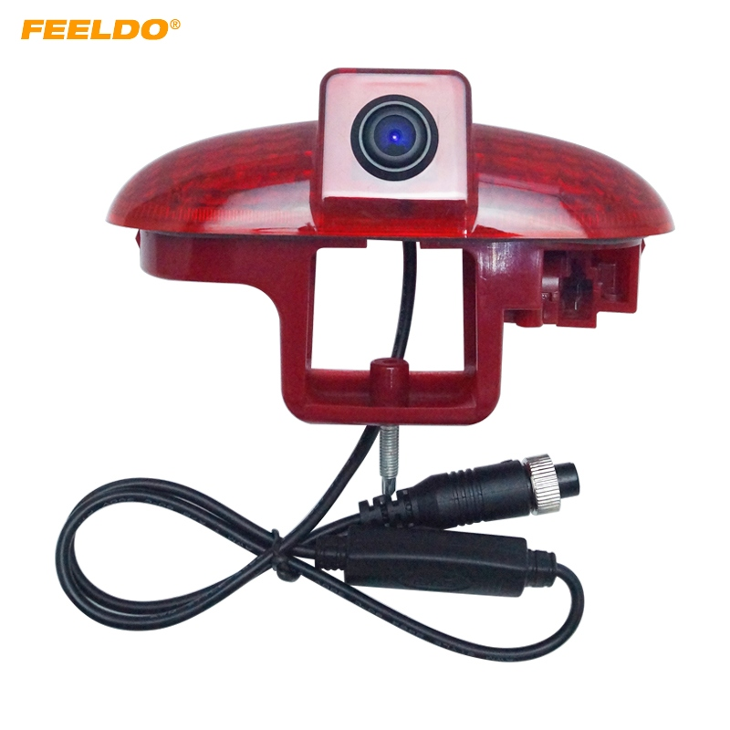 FEELDO 1Set Car Rear View Brake Light Camera For Renault Trafic /Vauxhall Vivaro Backup Camera #AM5793