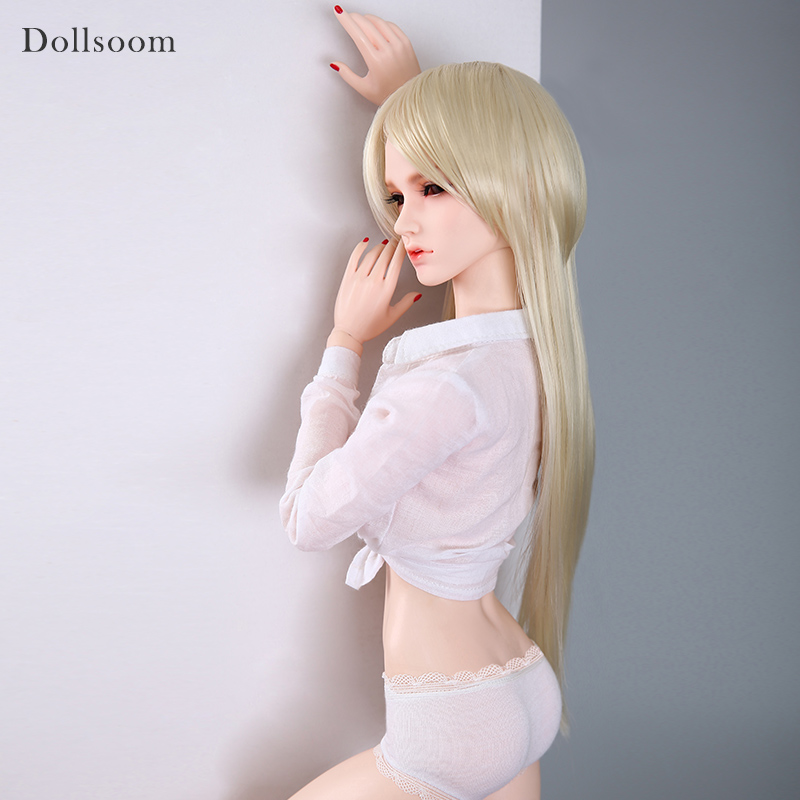 Free Shipping Dollsoom Dia BJD Doll 1/3 Super Gem Fashion Romantic Sexual Hot Female Resin Figure Model Toys for Girls Luodoll