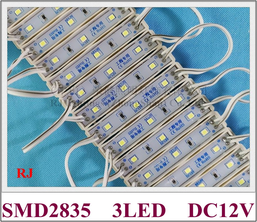 SMD 2835 LED light module for sign letters IP65 LED module DC12V SMD2835 3 led 0