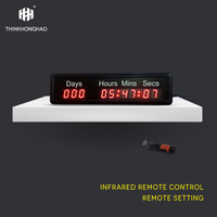 999 day23hours59minutes 59seconds led timer,countdown and count up clock Remote Control Clock
