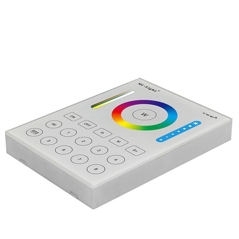 ARILUX B8 8 Zones entièrement Compatible avec RGB + CCT montage mural panneau intelligent LED variateur de lumière
