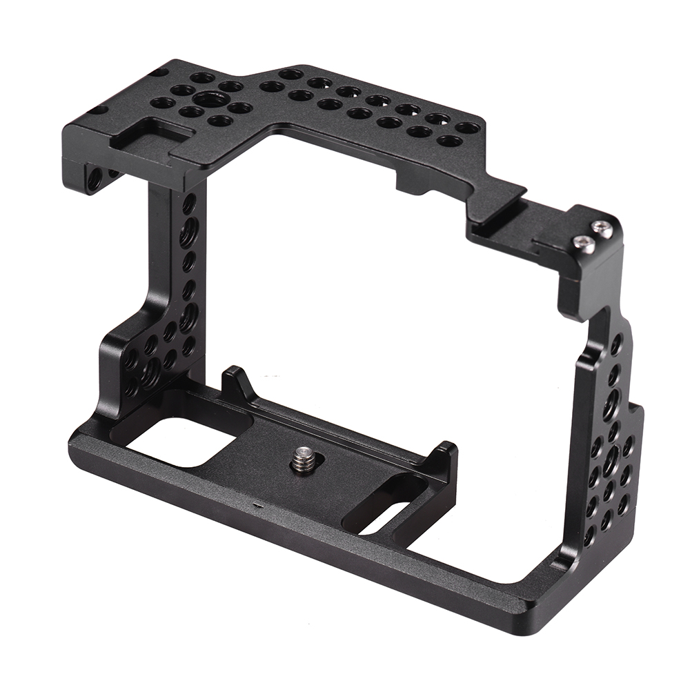 Andoer Camera Cage Video Film Movie Making Stabilizer 1 4 Inch Screw with Cold Shoe Mount